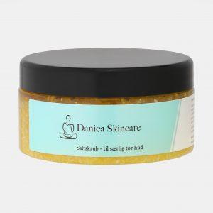 Saltskrub fra Danica Skincare