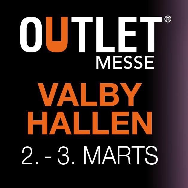 Outlet messe i Valby den 2. og 3. marts 2019