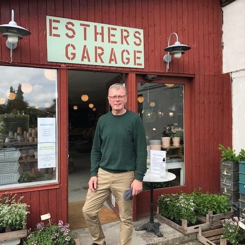 Esthers Garage i Tisvildeleje